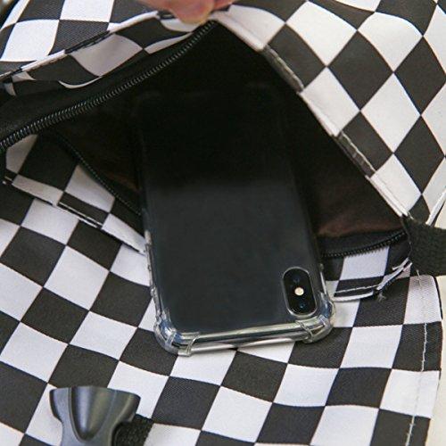AiSi Sac pour silver femme main C à bb taille 01He Grid 02727 au porté dos FS unique TqvrFw4T