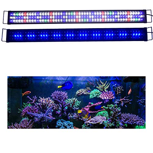 KZKR Upgraded Aquarium Light LED Full Spectrum 48