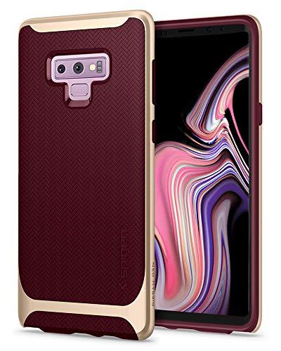 (Spigen Neo Hybrid Designed for Galaxy Note 9 Case (2018) - Burgundy)
