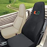FANMATS NCAA University of Miami Hurricanes Polyester Seat Cover