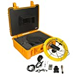 Steel Dragon Tools Model 710DN Pipe Inspection Camera with DVR and 130 FT Cable