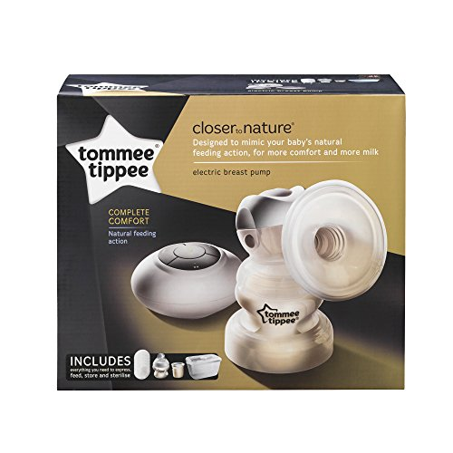 Tommee Tippee Closer To Nature Electric Breast Pump, White -9981
