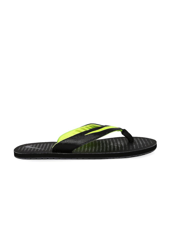 3b7d8b33 Nike Men's Chroma Thong 5 Black/Volt - Dark Grey Flip Flops (833808-013): Buy  Online at Low Prices in India - Amazon.in