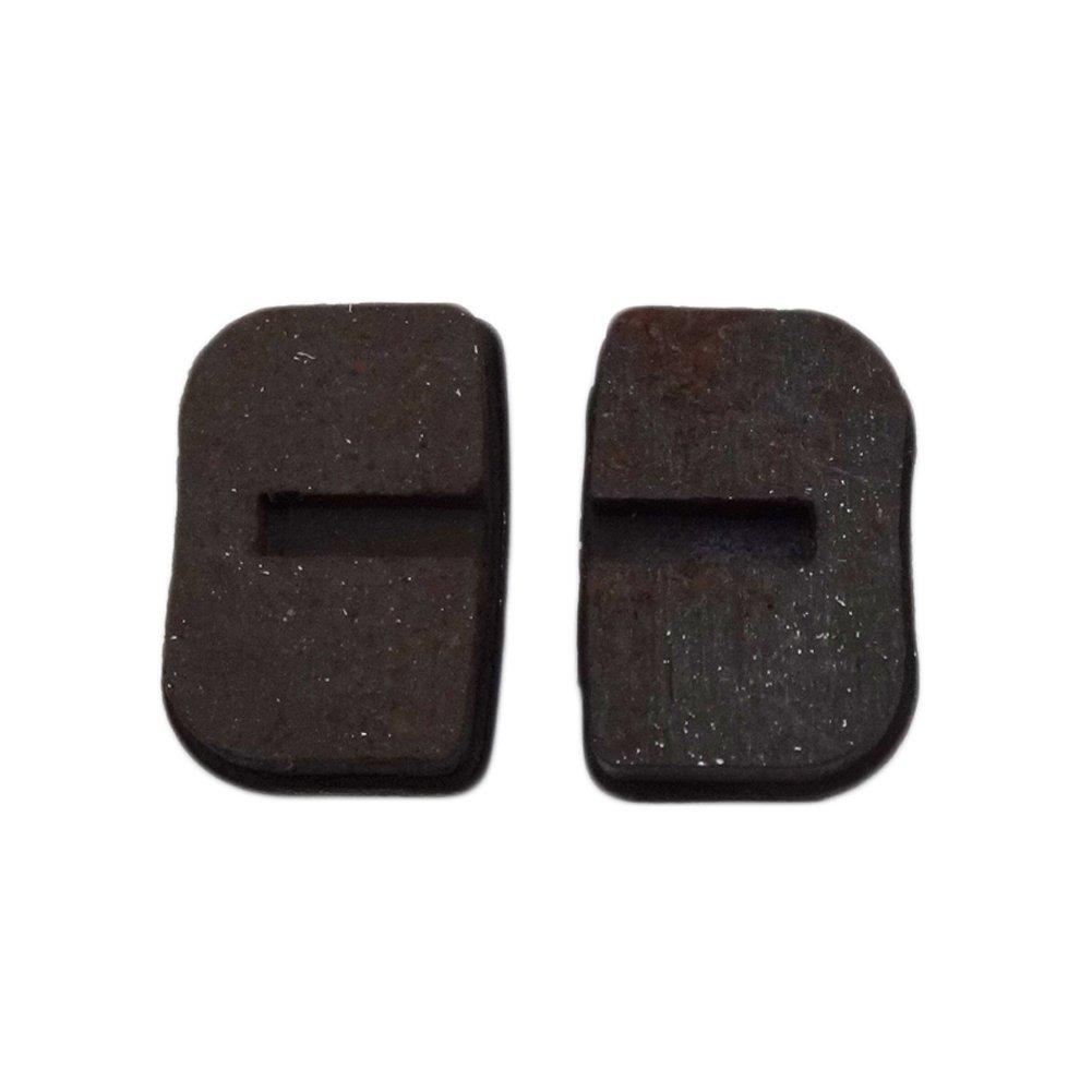 Stoneder 2/paires Plaquettes de frein /à disque Rotor /à coulisse /à chaussures pour 2/temps 47/cc 49/cc gaz MINIMOTO Pocket Mini Dirt bike Scooter