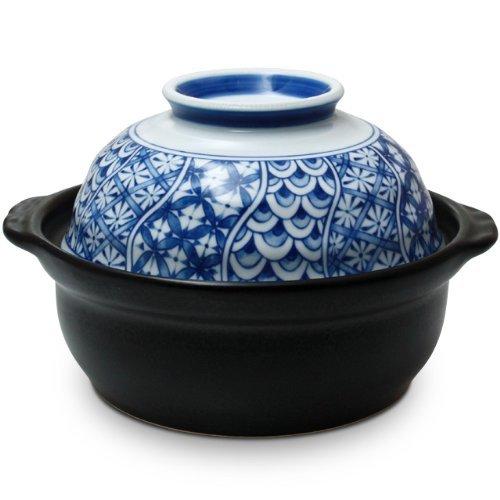 Arita yaki CtoC JAPAN Cooking pot Porcelain Size(cm):Diameter 19.5x13.8 ca248912 by CtoC JAPAN