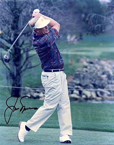 JACK NICKLAUS AUTOGRAPHED Hand SIGNED 8x10 PHOTO Masters U.S. Open w/COA