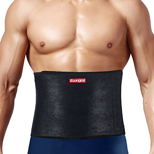 Kuangmi Waist Trimmer AB Belt Abdominal Muscle Back Support