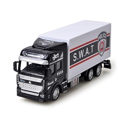 Amazon com: baidercor 1:48 Diecast Car Toy Transport Truck Vehicles