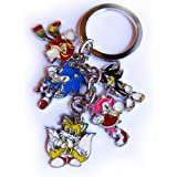 Sonic Hedgehog keychain set / Anime Expo