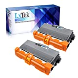 LxTek Compatible Toner Cartridge Replacement for Brother TN750 TN-750 TN720 TN-720 (2 Black High Yield) for Brother DCP-8110DN HL-5450DN HL-5470DW HL-6180DW MFC-8510DN MFC-8710DW MFC-8910DW MFC-8950DW