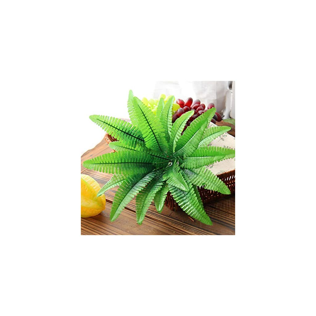 Artificial-Plants-Bamboo-Leaves-Green-Party-Decoration-Artificial-Home-Greenery-1pc-Office-Fake-Plants-Window-Exterior-Hedge-Shrubs-Plastic-10-Arrangements-Yard-Fern-Room