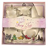 Fox Run 36005 Fairy Tale Cookie Cutter Set, Tin-Plated Steel, 6-Piece