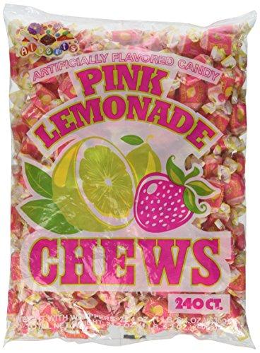 Alberts Fruit Chews Pink Lemonade 240 Count (Lemonade Miniature)