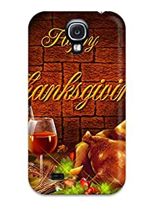 Ultra Slim Fit Hard ZippyDoritEduard Case Cover Specially Made For Galaxy S4- Thanksgivings