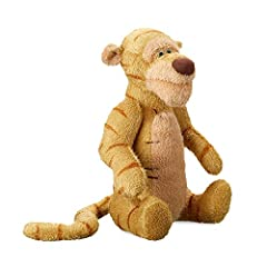 So soft. Stuffed with fluff. Uniquely classic. Inspired by Disney's live-action film Christopher Robin and E. H. Shepard's timeless illustrations, Tigger and his plush friends from the Hundred Acre Wood will always be waiting for a hug.