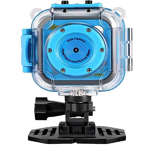 20m Camera - GAKOV GACD WiFi 1080P 2MP Underwater Kids Camera 20m Waterproof Sports Camera for Kids