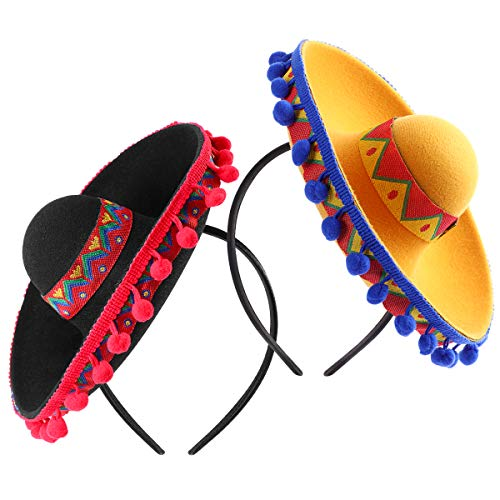 Cinco De Mayo Sombrero Headband, Fiesta Sombrero Party