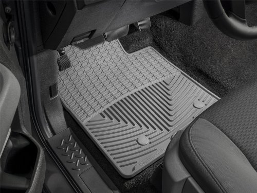 WeatherTech W3GR Trim to Fit Front Rubber Mats (Grey) by WeatherTech