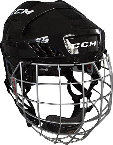 CCM FitLIte 60 Hockey Helmet Combo, Small, Black (Ice Ccm Helmet Hockey)