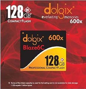 Dolgix 128GB Professional Blaze6C UDMA Compact Flash (CF) Card - 600x