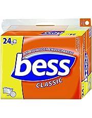 Bess Classic toalettpapper 3-lagers storpack 2 förpackningar (24 rullar x 150 ark), 1 paket (1 x 2 stycken)