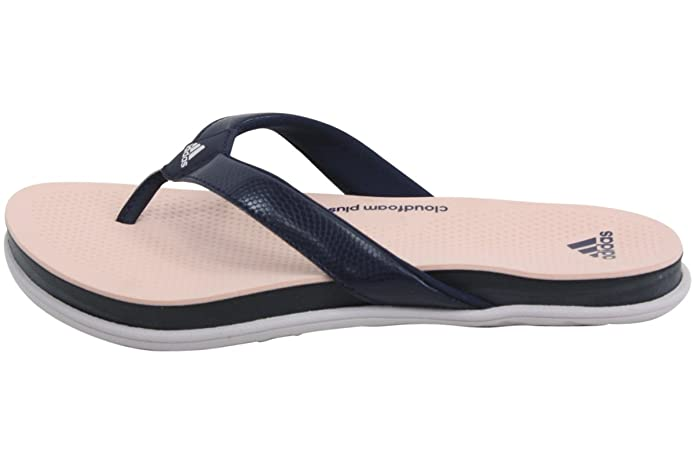 adidas Cloudfoam Ultra Y Thong Sandal(Women's) -Easy Coral/Maroon/Haze Coral Cheap Factory Outlet zXRO4