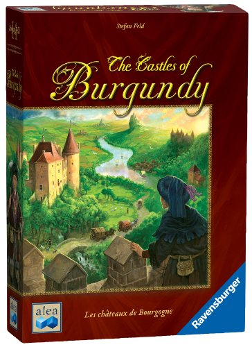 Ravensburger The Castles of Burgundy Board Game - Fun Strategy Game That's Easy to Learn and Play with Great Replay - Castle Carcassonne