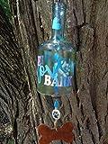 Live, Live, Bark Wind Chime - Bottle Wind Chime - Dog Lover Gift - Dog Lover Decor
