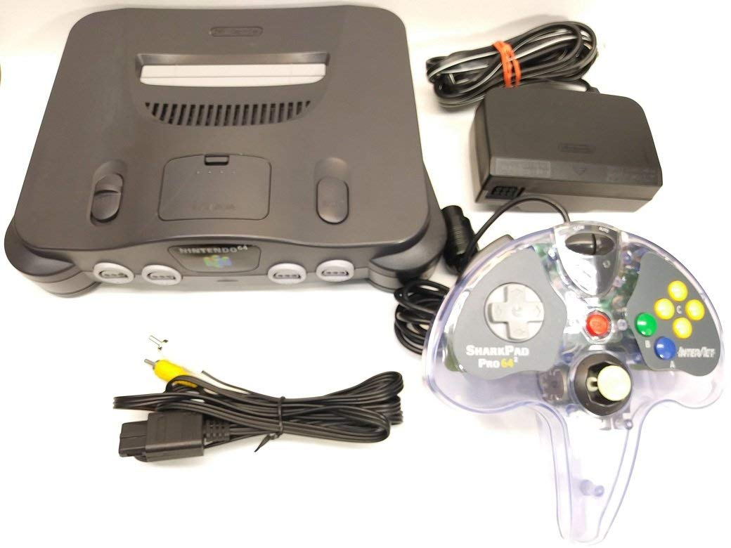 Nintendo N64 Console Bundle W/ One Controller (Renewed)