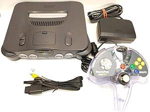 Nintendo N64 Console Bundle W/ One Controller (Renewed)
