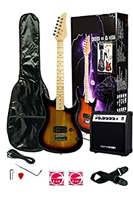 Full size 39 Electric Guitar & Carrying Case & Accessories
