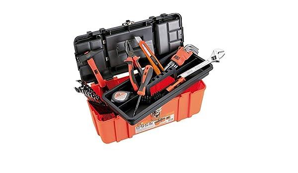 ALYCO 170796 - Caja de plastico 425x395x590 mm con 33 herramientas ...