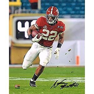 Najee Harris Alabama Crimson Tide Autographed 8″ x 10″ College Football Playoffs 2020 National Championship Game Photograph – Autographed NFL Photos