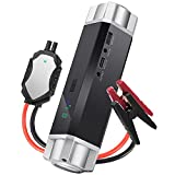 1000A Peak Current Car Jump Starter 18000mAh - JKCOVER Battery for Petrol 6.5L Diesel 5.0L Portable Emergency Power Bank Charger with Smart Jumper Cables