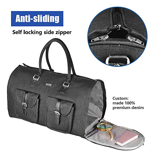 Two-In-One Convertible Travel Garment Bag Carry On Suit Bag, Easily Transforms Into a Sports Duffel by GYSSIEN (Image #2)