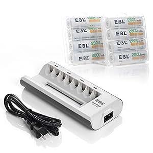 Amazon.com: EBL Rechargeable AA Batteries 2800mAh Durable