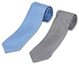 Set of 2 Neckties by Mens Collections- Multiple Ties Variations to Chose From! (25)