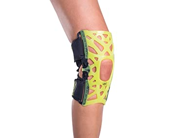 f7e3ff5b53 Image Unavailable. Image not available for. Color: DonJoy Performance Webtech  Knee Brace - Slime Green ...