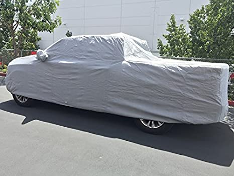 CarsCover Custom Fit 2001-2019 Ford F150 Crew Cab 5.5ft Short Bed Truck Car Cover Heavy Duty All Weatherproof Ultrashield