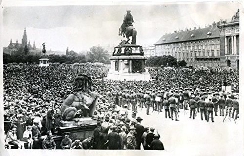 [Schubert, Franz. (1797-1828)]: Open Air Centenary Concert - Original 1928 Photograph (Open Concert Air)