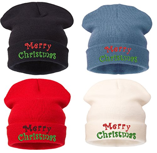 200 Comme Hitachi nbsp;Models Merry Christmas Fuckdown Gorro White única Gorro White Christmas Fuckin Bad Hair Beanie Day Problema Talla Merry Des 0Pqwpx
