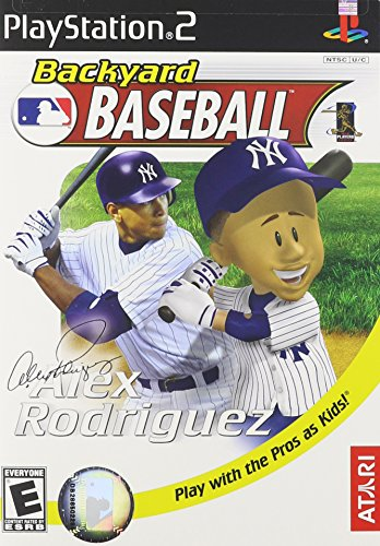 Ata Baseball Game - Backyard Baseball - PlayStation 2