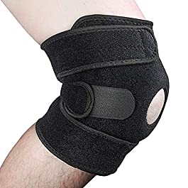 Knee Brace Support,Open Patella Brace for Arthritis, Joint Pain Relief, Injury Recovery with Adjustable Strapping…