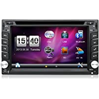 6.2 Window CE 6.0 Double din Car Dvd Player Touch Screen Stereo Navigation Audio Radio For Universal Car