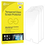 iPhone 6s/6 Screen Protector, JETech 3-Pack [3D Touch Compatible] Premium Tempered Glass Screen Protector Film for Apple iPhone 6 and iPhone 6s 4.7""