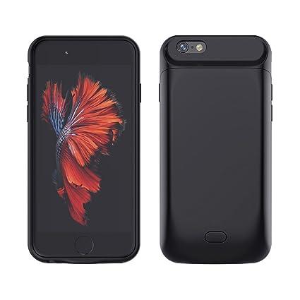 Amazon.com: iPhone 6S/6 Plus Funda Cargador de batería Caso ...