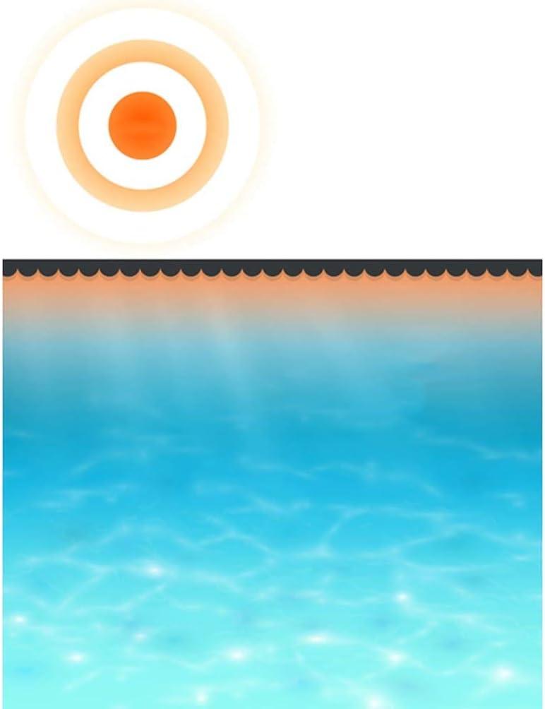 Tidyard Solar-Poolabdeckung Solarplane Mit PE-Luftpolstern,Poolabdeckplane Pool Cover F/ür Pool,Pool Solarfolie Solarabdeckplane Poolheizung Poolwasser,Diverse Farben und Gr/ö/ßen
