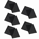 Elisona-10 PCS Hair velcro Hook Loop Pad Fringe Stabilizer Front Hair Grip Bang Sheets Hairpin Accessories Girls Beauty Tool