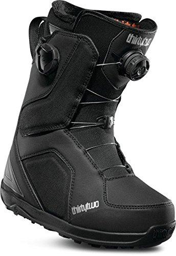 ThirtyTwo Women's Binary Boa'1 Snowboard Boots, Size 8, Black