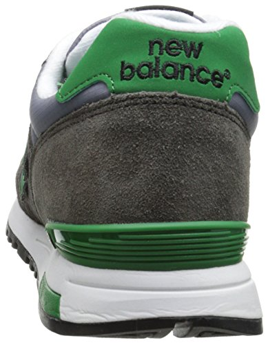 New Balance Rip-Stop Mesh 565 - Zapatillas para hombre Gris (Grey with Light Grey & Green)